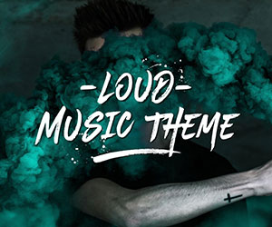 Loud - A Modern WordPress Theme for the Music Industry