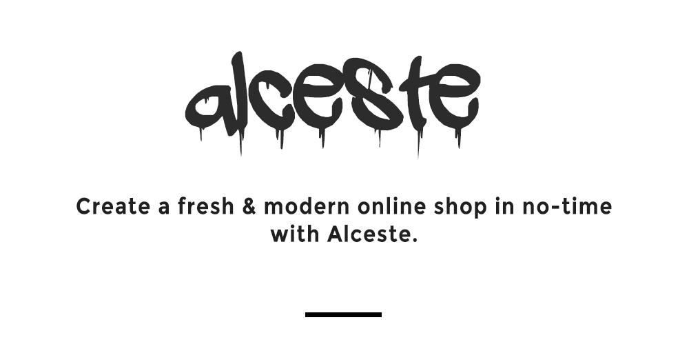 Alceste Presentation Header