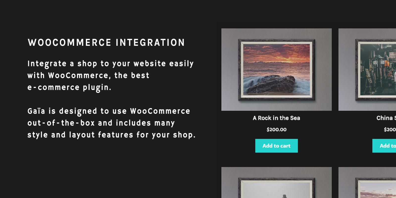 WooCommer Shop E-Commerce