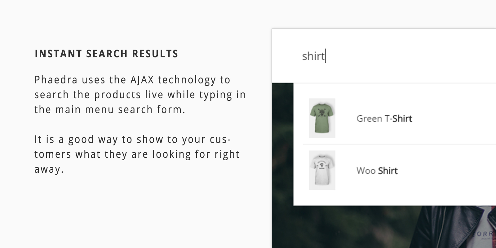 AJAX Instant Search Results