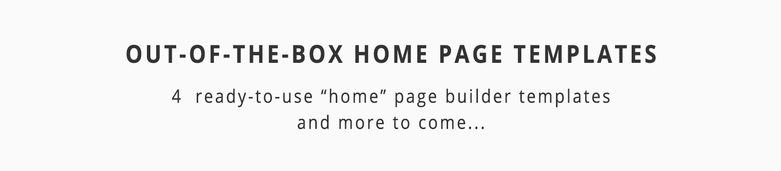 Home Pages title Templates