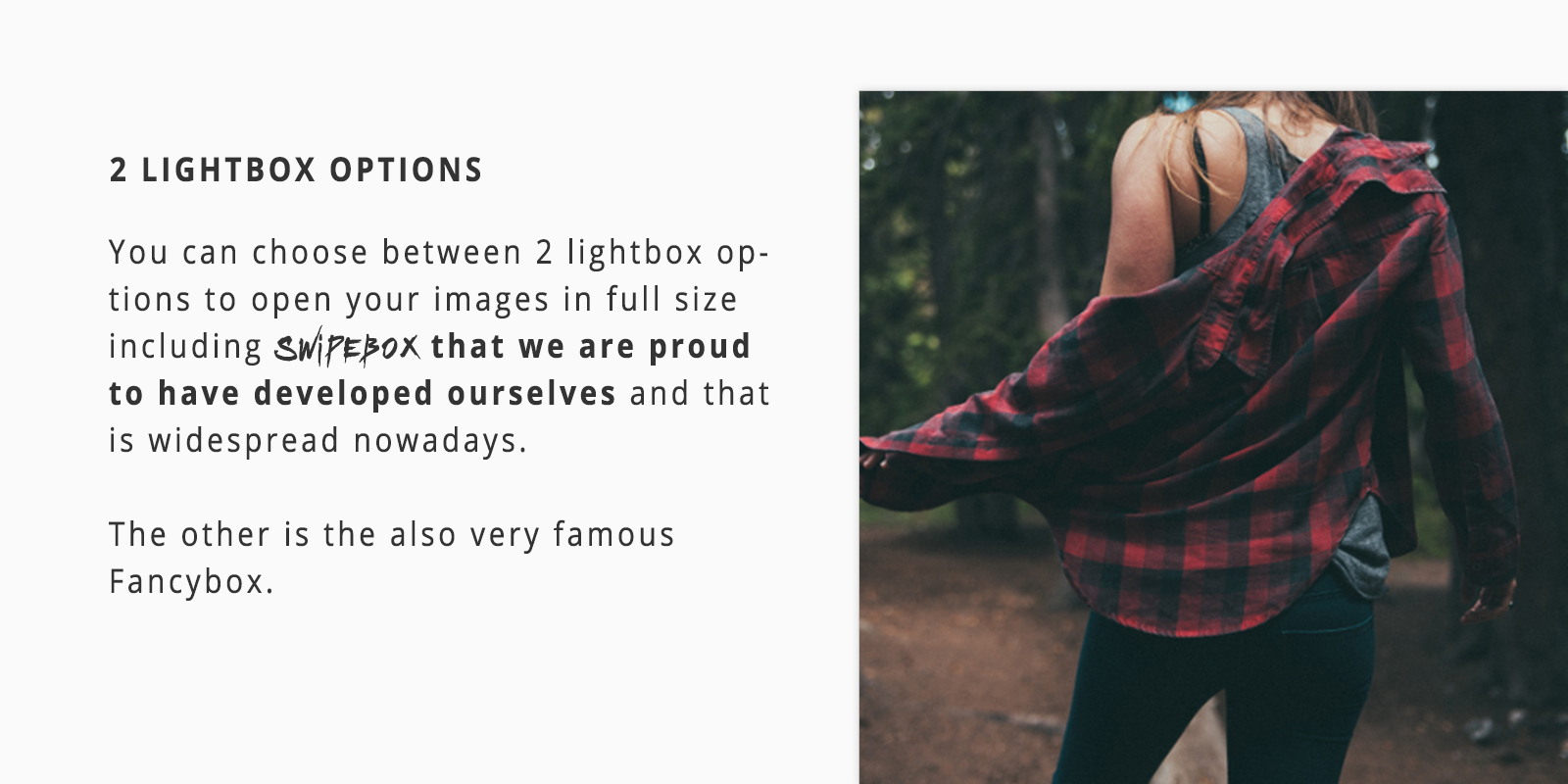 Lightbox Swipebox