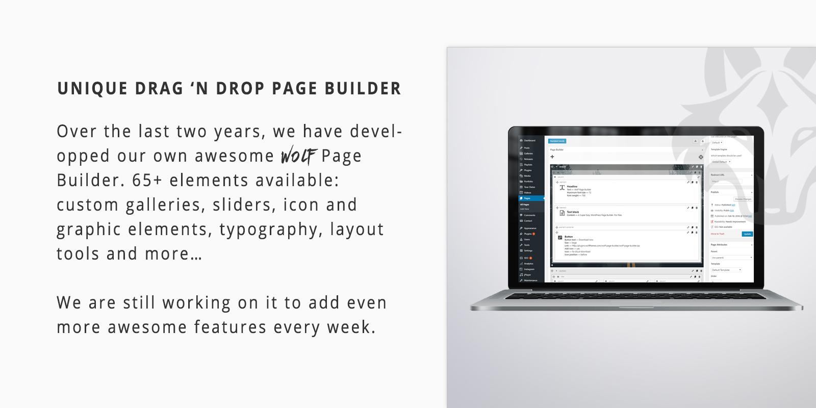 Wolf Page Builder