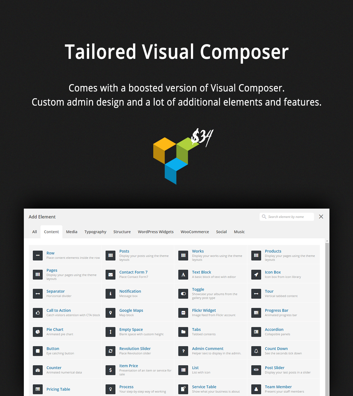 Tailored Visual Composer