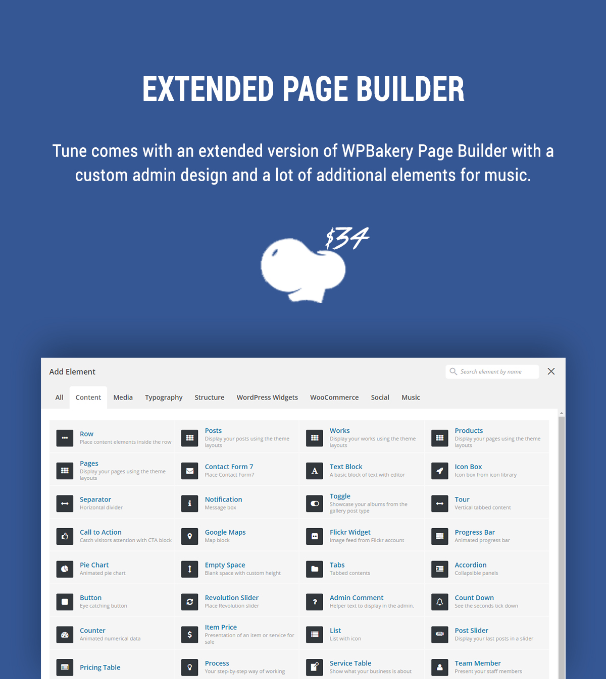 Extended WPBakery Page Builder